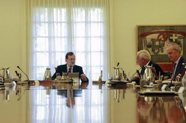 Consejo de Ministros en el Complejo de La Moncloa