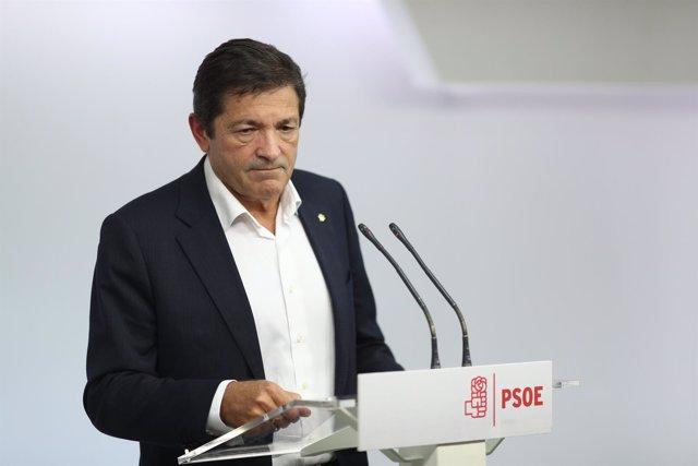Javier Fernández, presidente de la gestora del PSOE