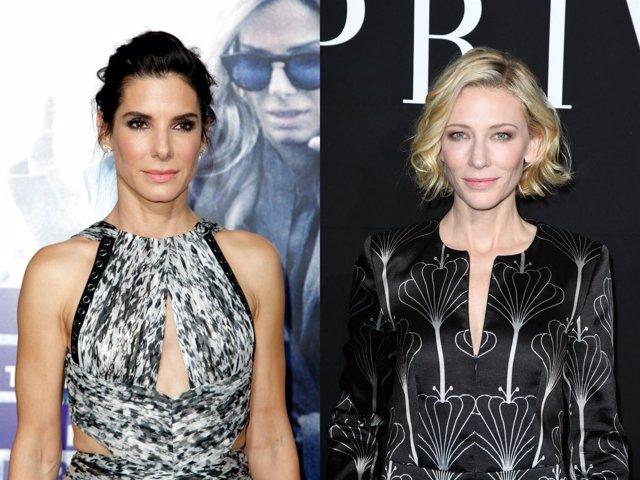 Sandra Bullock y Cate Blanchett Oceans Eight