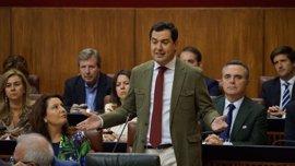 Moreno pide a Susana Díaz que abra al PP-A el diálogo sobre el Presupuesto