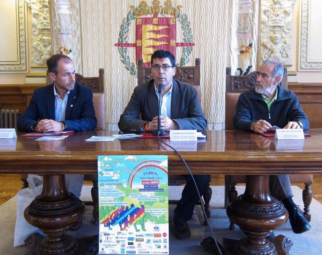 Presentación de la III Legua Solidaria por el DCA de Valladolid