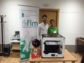 Una impresora 3D para fabricar productos de apoyo a los lesionados medulares