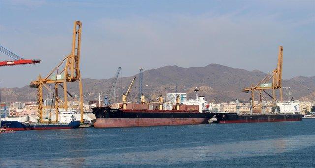 Jornada Tráfico De Granel Sólido En El Puerto De Málaga