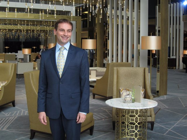 Franck Sibille, director del hotel Fairmont Rey Juan Carlos I de Barcelona