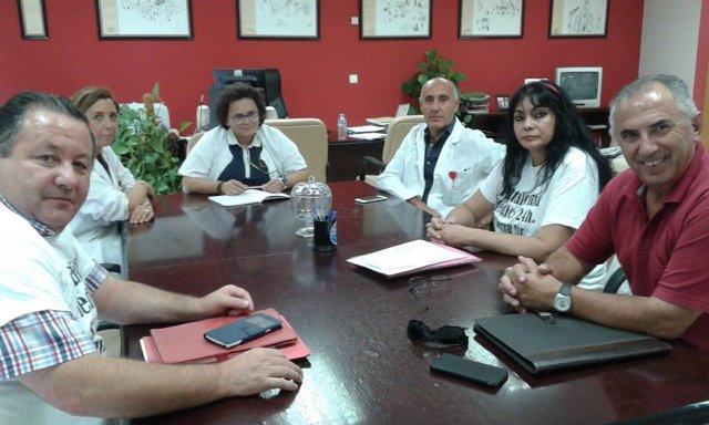 Alcaldes de la Sierra Sur y una representación de la Junta se reúnen en Osuna