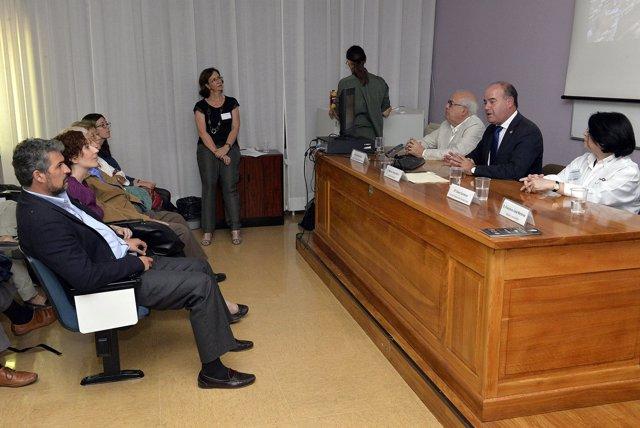 Intervención de Manuel Barón en el congreso turístico.