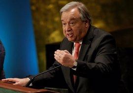 """Guterres asume con """"gratitud"""" y """"humildad"""" su nominación en la ONU"""