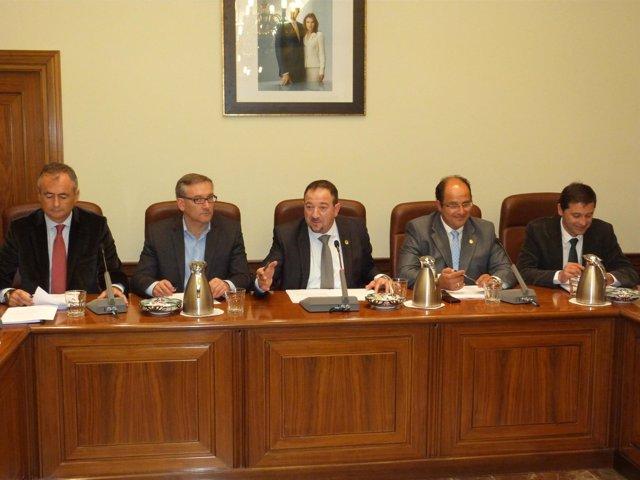 Pleno de la Diputación de Teruel