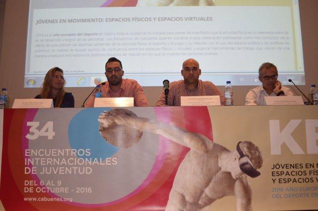 Encuentros internacionales de juventud en Gijón