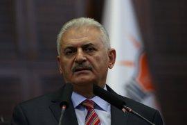 Yildirim ratifica la presencia del Ejército turco en la localidad iraquí de Bashiqa