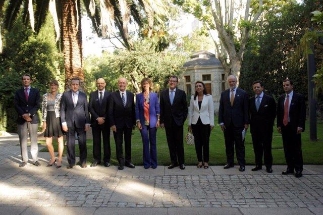 Reunión del Club Málaga Valley en Madrid