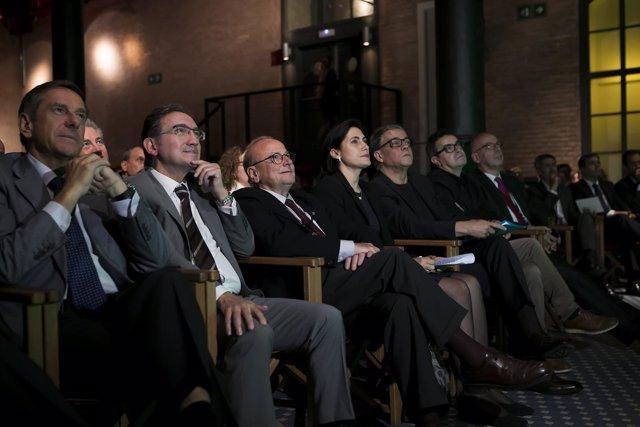 Ramon Rovira, Jaume Giró, Jordi Vilajoana, M.Luisa Martínez Gistrau, J.M.Puyal