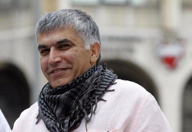El activista de Bahréin Nabil Rajab