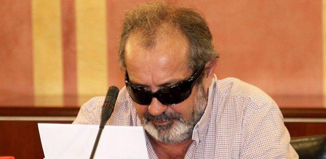 Juan Lanzas declara en la comisión de los ERE
