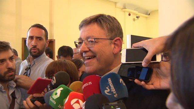 Puig rechaza apoyar al PP