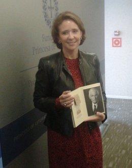 La Directora De La Fundación Princesa De Asturias, Teresa Sanjurjo.
