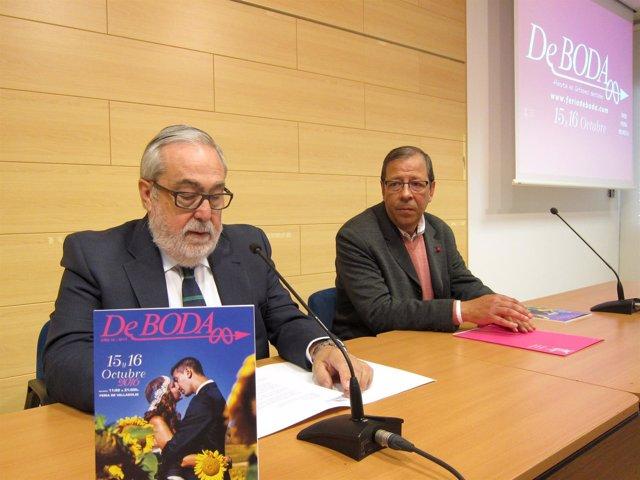 Juan Useros y César del Campo presentan la Feria DeBoda