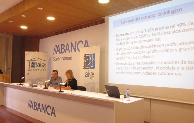 Iván Arpa e Isabel Blanco presentan un informe sobre los intérpretes gallegos