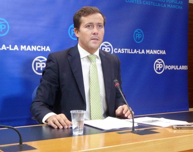 Carlos Velázquez, portavoz adjunto del PP en las Cortes