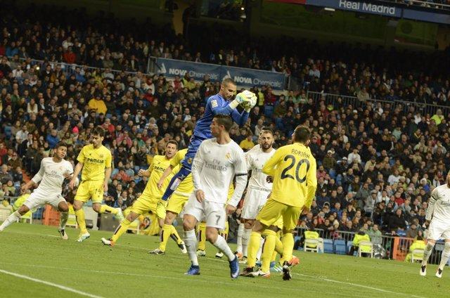 Sergio Asenjo en el Real Madrid - Villareal