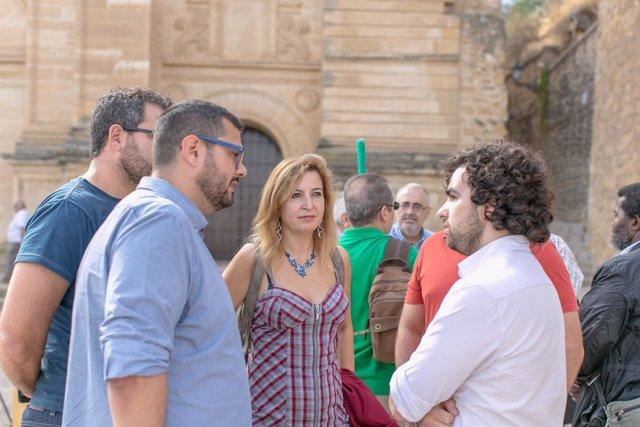 Audio E Imagen De La Presentación De La Candidatura Ahora Andalucia Que Ha Reali