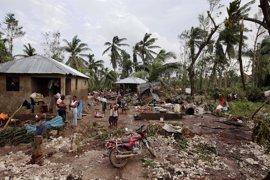 Al menos medio millón de niños viven en las zonas más afectadas por el huracán en Haití