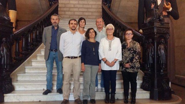 Presentación programa  de la obra Llorenç Moyà a la ciutadania