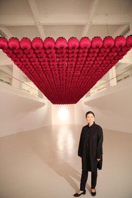 Intervención 'site specific' de la artista coreana Kimsooja