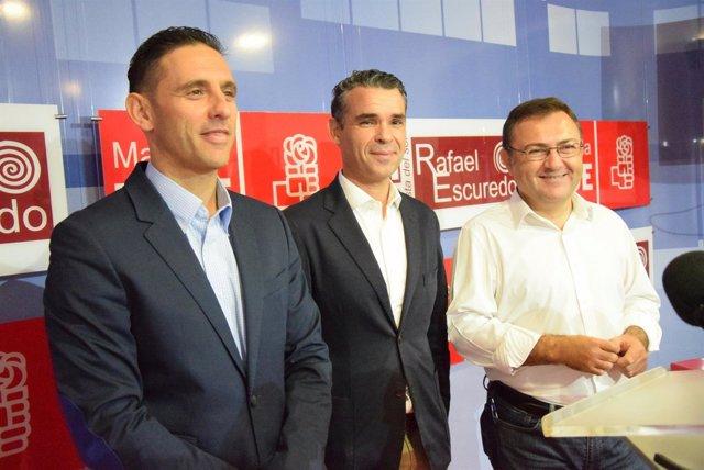 (CON FOTOS Y AUDIO) Alcaldes Socialistas Reclaman Al Gobierno Que Modifique El T