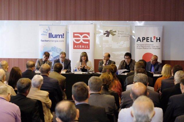 El Fórum Empresarial del Llobregat ha organizado un debate sobre las infraestruc