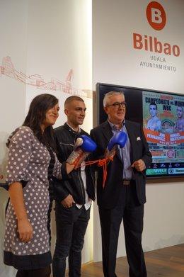 """""""Va A Ser Un Gran Combate"""", Aseguró Jon Fernández Hoy En La Presentación Del Cam"""