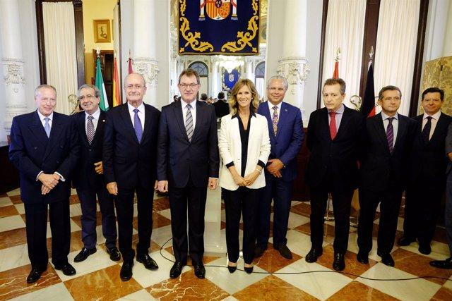 Reunión del Club Málaga Valley en Málaga