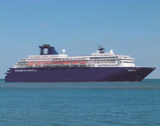 Crucero Zenith de Pullmantur