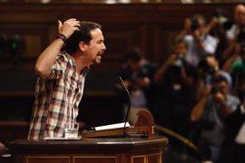 """Iglesias da por hecho que el PSOE """"entregará"""" el Gobierno al PP y dice que a Podemos """"le toca ocupar"""" la oposición"""