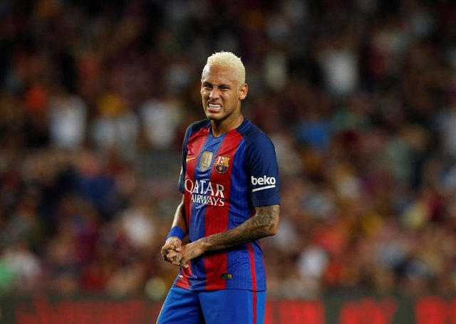 El jugador del Barcelona Neymar