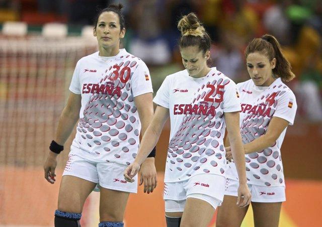 Nerea Pena, Carmen Martín tras perder con Francia en balonmano