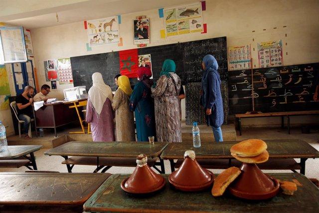 Elecciones Marruecos