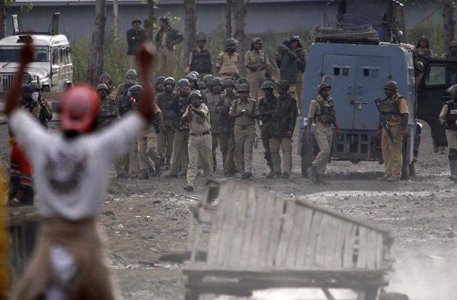 Disturbios en Cachemira