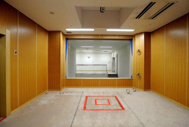 Sala de ejecución, pena de muerte, Japón