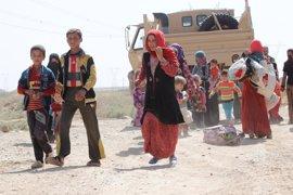 Los desplazados por Estado Islámico en Irak solo quieren un lugar seguro para vivir