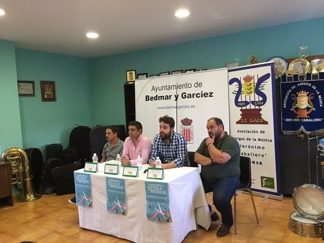 Presentación de la Escuela de Música de Bedmar (Jaén)
