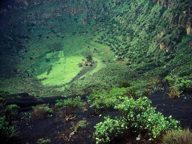 Caldera de Bandama, foto que la Gran Canaria Film Commission usa de promoción