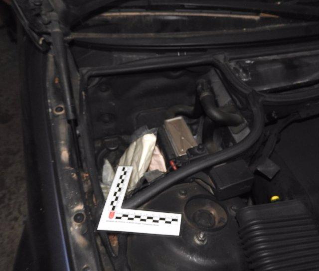 Speed encontrado en el motor de un vehículo.