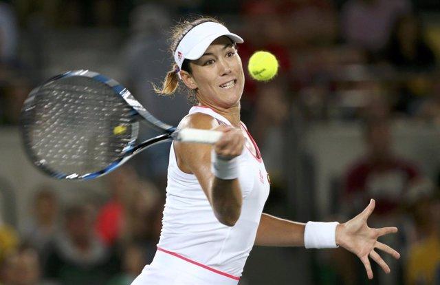 El tenista española Garbiñe Muguruza