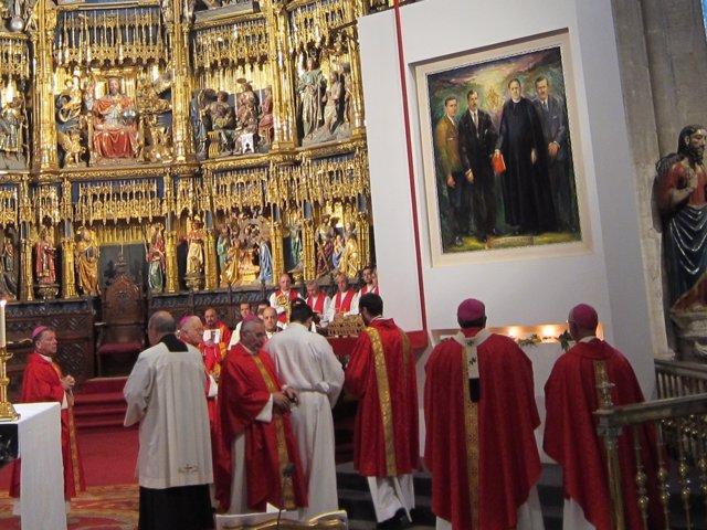 Beatificación de los mártires de Nembra en Oviedo