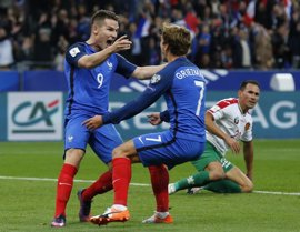 Francia y Holanda se enfrentan por el liderato del Grupo A