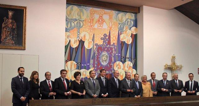 Encuentro de Agrupaciones y Cofradías en Málaga