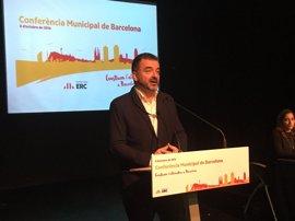 Bosch vincula los Presupuestos de Colau a que SíQueEsPot apoye los de la Generalitat