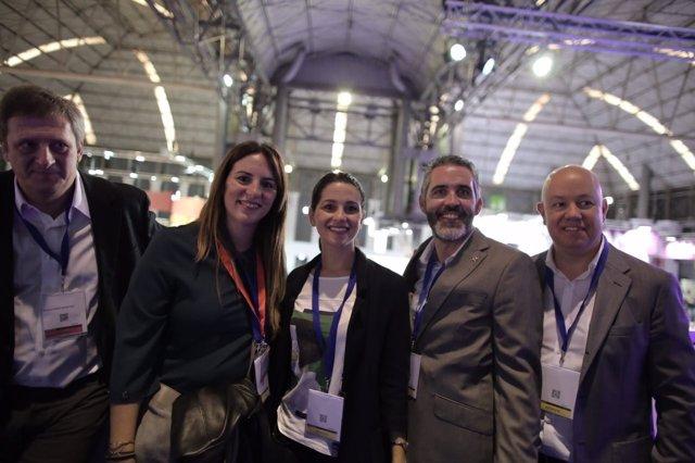 Inés Arrimadas, Laura Vílchez, Joan García y Jorge Soler
