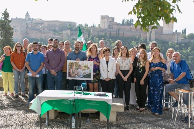 Candidatura de Ahora Andalucía para la asamblea de Podemos